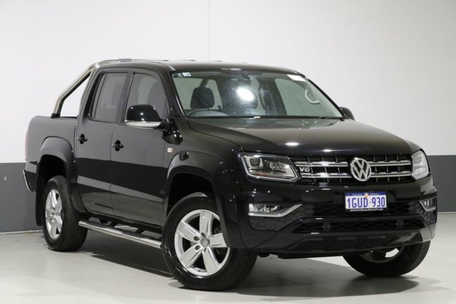 Used Volkswagen Amarok 2H MY17.5 V6 TDI 550 Highline, 2017 Volkswagen Amarok 2H MY17.5 V6 TDI 550 Highline Black 8 Speed Automatic Dual Cab Utility