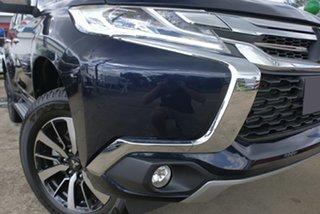 2019 Mitsubishi Pajero Sport QE MY19 GLS Dark Blue Automatic.