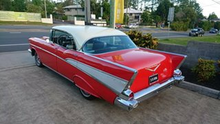 1957 Chevrolet Bel-Air Red 3 Speed Automatic Hardtop