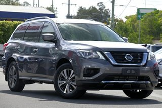 2019 Nissan Pathfinder R52 Series III MY19 ST X-tronic 2WD Cayenne Red 1 Speed Constant Variable.