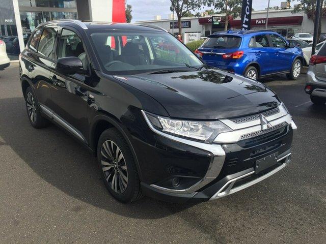 New Mitsubishi Outlander ZL MY19 ES 7 Seat (AWD), 2018 Mitsubishi Outlander ZL MY19 ES 7 Seat (AWD) Black Continuous Variable Wagon