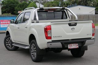 2018 Nissan Navara D23 S3 ST-X White Diamond 7 Speed Sports Automatic Utility.