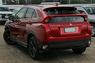 2019 Mitsubishi Eclipse Cross YA MY19 Black Edition 2WD Red Diamond 8 Speed Constant Variable Wagon.