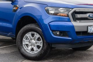 2015 Ford Ranger PX MkII XLS Double Cab Blue 6 Speed Sports Automatic Utility.