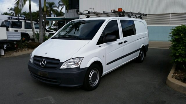 Used Mercedes-Benz Vito 639 MY13 113CDI SWB, 2013 Mercedes-Benz Vito 639 MY13 113CDI SWB White 5 Speed Automatic Van