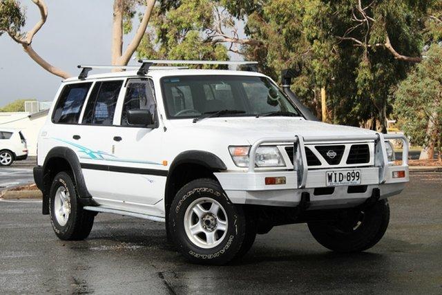 Used Nissan Patrol GU DX5, 1998 Nissan Patrol GU DX5 White 5 Speed Manual Wagon