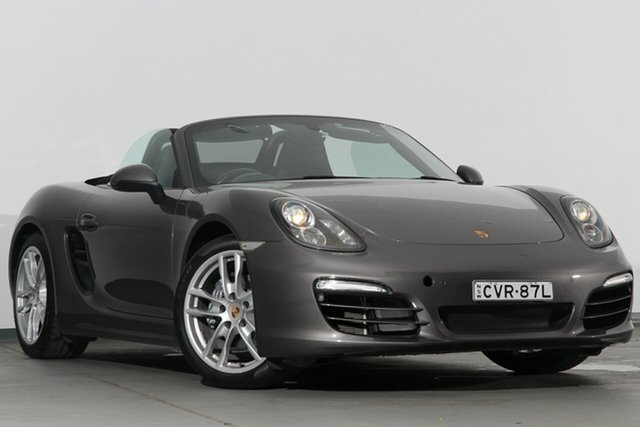 Used Porsche Boxster 981 PDK, 2014 Porsche Boxster 981 PDK Grey 7 Speed Sports Automatic Dual Clutch Convertible