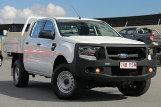 2016 Ford Ranger PX MkII XL Double Cab White 6 Speed Sports Automatic Cab Chassis.