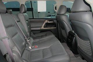 2007 Toyota Landcruiser VDJ200R Sahara Silver 6 Speed Sports Automatic Wagon