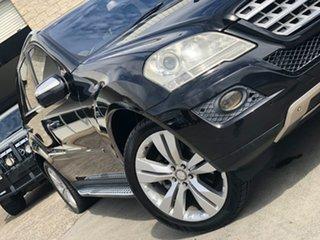2010 Mercedes-Benz ML350 W164 MY10 Black 7 Speed Sports Automatic Wagon