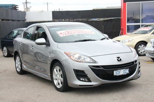 Used Mazda 3 BL10F1 Maxx Activematic Sport, 2009 Mazda 3 BL10F1 Maxx Activematic Sport Silver 5 Speed Sports Automatic Sedan