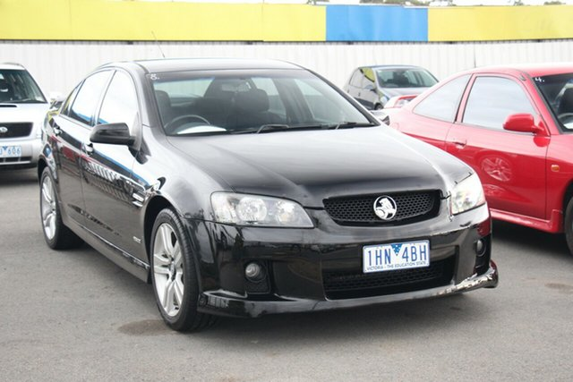 Used Holden Commodore VE MY10 SV6, 2009 Holden Commodore VE MY10 SV6 Black 6 Speed Manual Sedan