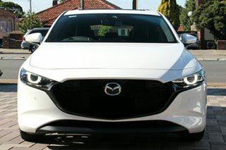 2021 Mazda 3 BP2HLA G25 SKYACTIV-Drive Astina Snowflake White Pearl 6 Speed Sports Automatic