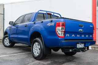 2015 Ford Ranger PX MkII XLS Double Cab Blue 6 Speed Sports Automatic Utility