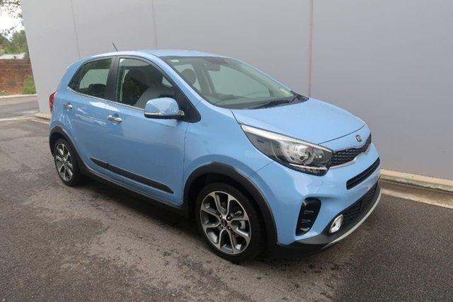 Demo Kia Picanto JA MY19 X-Line, 2019 Kia Picanto JA MY19 X-Line Blue 4 Speed Automatic Hatchback