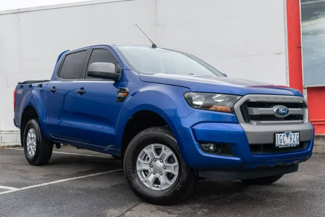 Used Ford Ranger PX MkII XLS Double Cab, 2015 Ford Ranger PX MkII XLS Double Cab Blue 6 Speed Sports Automatic Utility