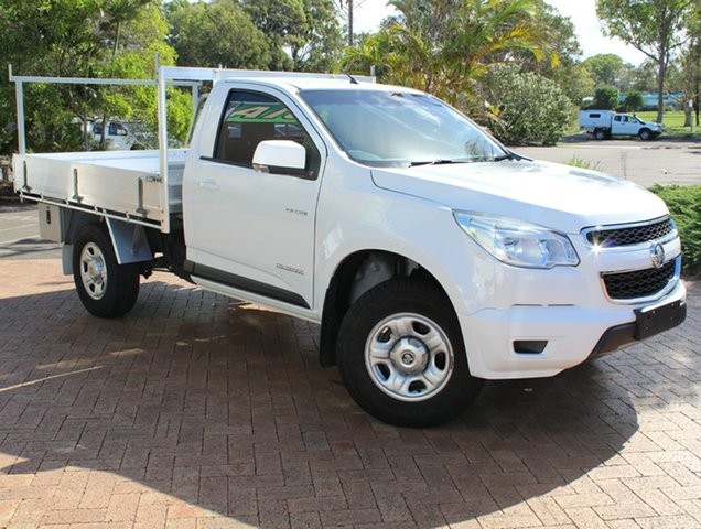 Used Holden Colorado RG MY13 LX 4x2, 2013 Holden Colorado RG MY13 LX 4x2 6 Speed Sports Automatic Cab Chassis