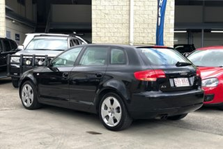 2008 Audi A3 8P MY09 Ambition Sportback S Tronic Quattro Black 6 Speed Sports Automatic Dual Clutch.