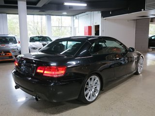 2009 BMW 3 Series E93 MY10 335i D-CT Black Sapphire 7 Speed Sports Automatic Dual Clutch Convertible