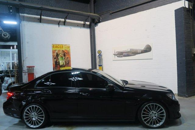 Used Mercedes-Benz C63 W204 MY13 AMG SPEEDSHIFT MCT Performance Package Plus, 2013 Mercedes-Benz C63 W204 MY13 AMG SPEEDSHIFT MCT Performance Package Plus Black 7 Speed