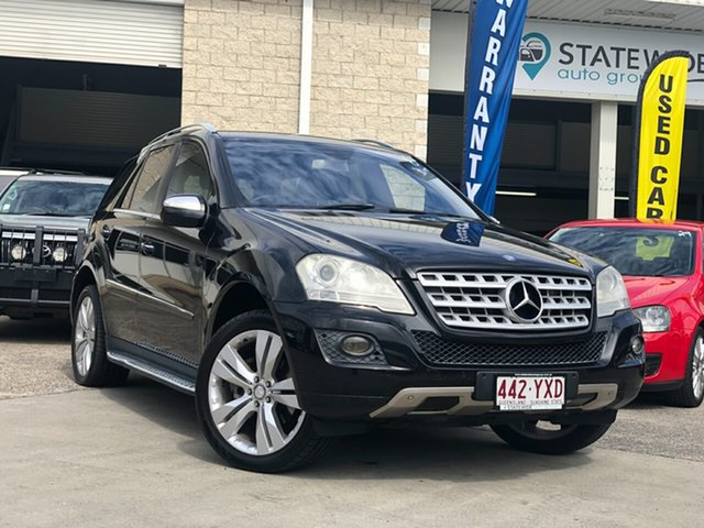Used Mercedes-Benz M-Class W164 MY10 ML350, 2010 Mercedes-Benz M-Class W164 MY10 ML350 Black 7 Speed Sports Automatic Wagon