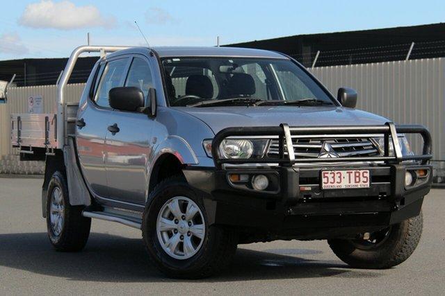 Used Mitsubishi Triton MN MY13 GLX Double Cab, 2013 Mitsubishi Triton MN MY13 GLX Double Cab Silver 5 Speed Manual Utility