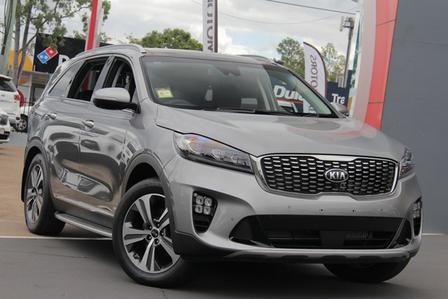 Demo Kia Sorento UM MY19 GT-Line, 2018 Kia Sorento UM MY19 GT-Line Steel Grey 8 Speed Sports Automatic Wagon