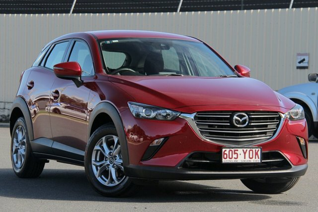 Used Mazda CX-3 DK2W7A Maxx SKYACTIV-Drive FWD Sport, 2018 Mazda CX-3 DK2W7A Maxx SKYACTIV-Drive FWD Sport Soul Red 6 Speed Sports Automatic Wagon