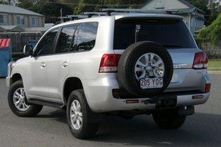 2007 Toyota Landcruiser VDJ200R Sahara Silver 6 Speed Sports Automatic Wagon.