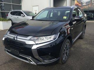 2018 Mitsubishi Outlander ZL MY19 ES 7 Seat (AWD) Black Continuous Variable Wagon.