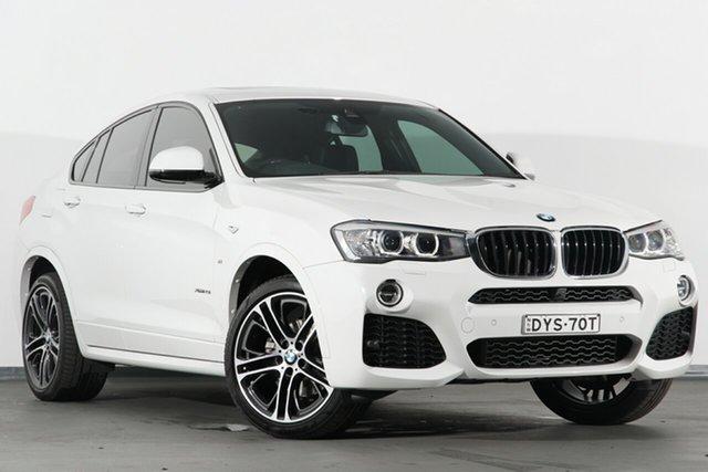 Used BMW X4 F26 xDrive20i Coupe Steptronic, 2017 BMW X4 F26 xDrive20i Coupe Steptronic White 8 Speed Automatic SUV