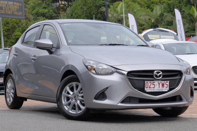 Demo Mazda 2 DJ2HAA Maxx SKYACTIV-Drive, 2019 Mazda 2 DJ2HAA Maxx SKYACTIV-Drive Aluminium 6 Speed Sports Automatic Hatchback