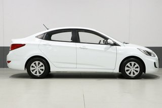 2015 Hyundai Accent RB2 Active White 4 Speed Automatic Sedan