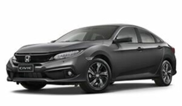 Demo Honda Civic 10th Gen MY18 VTi-LX, 2018 Honda Civic 10th Gen MY18 VTi-LX Modern Steel 1 Speed Constant Variable Sedan