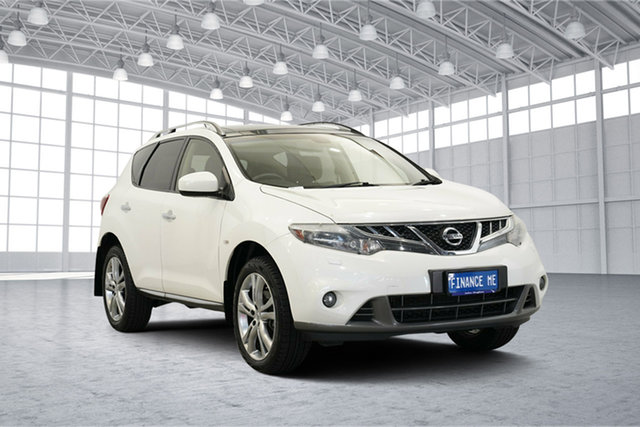 Used Nissan Murano Z51 Series 4 MY14 TI, 2014 Nissan Murano Z51 Series 4 MY14 TI White 6 Speed Constant Variable Wagon