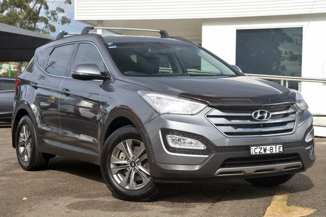 Used Hyundai Santa Fe DM2 MY15 Active, 2015 Hyundai Santa Fe DM2 MY15 Active Silver 6 Speed Sports Automatic Wagon