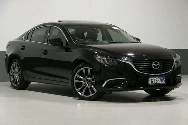 Used Mazda 6 6C MY14 Upgrade GT, 2015 Mazda 6 6C MY14 Upgrade GT Black 6 Speed Automatic Sedan