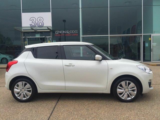 Used Suzuki Swift AZ GL Navigator, 2017 Suzuki Swift AZ GL Navigator White 1 Speed Constant Variable Hatchback