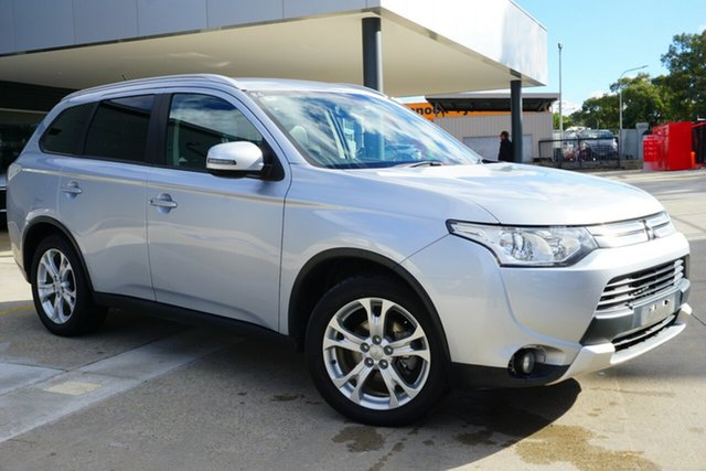 Used Mitsubishi Outlander ZJ MY14.5 LS 2WD, 2014 Mitsubishi Outlander ZJ MY14.5 LS 2WD Silver 6 Speed Constant Variable Wagon