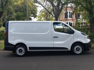 2018 Renault Trafic X82 85kW Low Roof SWB Glacier White 6 Speed Manual Van.