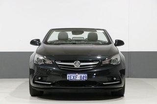 2015 Holden Cascada CJ Black 6 Speed Automatic Convertible.