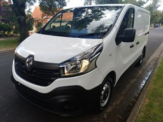 2018 Renault Trafic X82 85kW Low Roof SWB Glacier White 6 Speed Manual Van