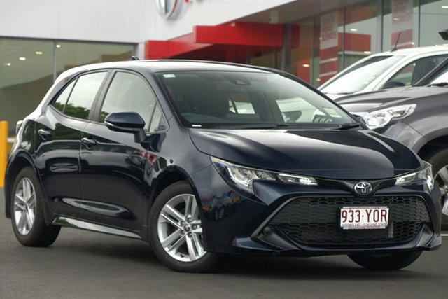 Demo Toyota Corolla Mzea12R Ascent Sport, 2018 Toyota Corolla Mzea12R Ascent Sport Peacock Black 10 Speed Constant Variable Hatchback