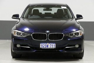 2012 BMW 335i F30 Sport Line Blue 8 Speed Automatic Sedan.