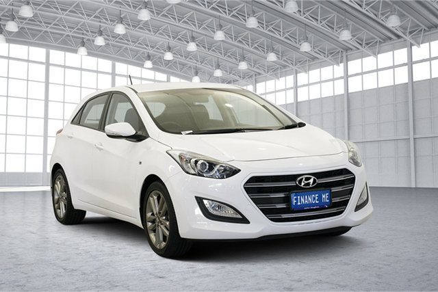Used Hyundai i30 GD3 Series II MY16 SR, 2015 Hyundai i30 GD3 Series II MY16 SR Cream 6 Speed Sports Automatic Hatchback