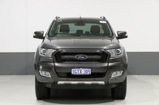 2017 Ford Ranger PX MkII MY18 Wildtrak 3.2 (4x4) Grey 6 Speed Automatic Dual Cab Pick-up.