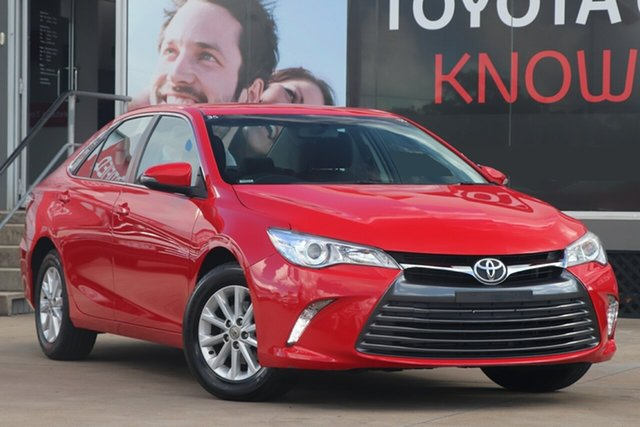 Used Toyota Camry ASV50R Altise, 2017 Toyota Camry ASV50R Altise Red 6 Speed Sports Automatic Sedan
