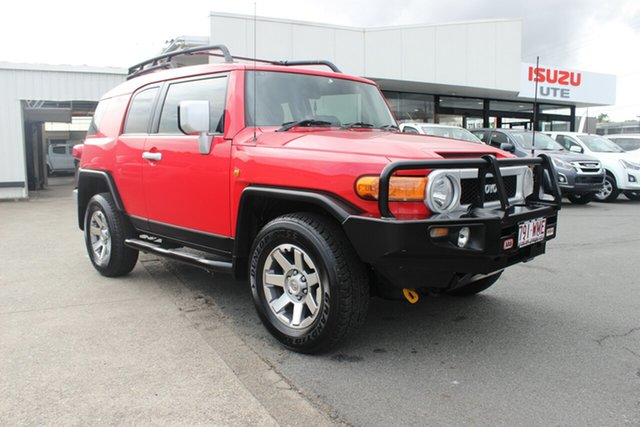 Used Toyota FJ Cruiser GSJ15R MY14 , 2016 Toyota FJ Cruiser GSJ15R MY14 Red 5 Speed Automatic Wagon