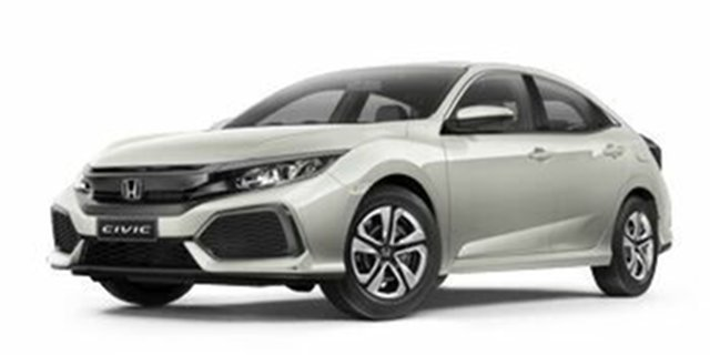 Demo Honda Civic 10th Gen MY18 VTi, 2018 Honda Civic 10th Gen MY18 VTi White Orchid 1 Speed Constant Variable Hatchback