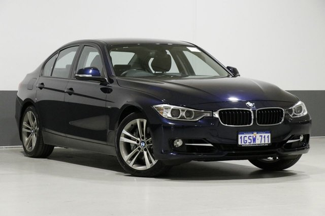 Used BMW 335i F30 Sport Line, 2012 BMW 335i F30 Sport Line Blue 8 Speed Automatic Sedan